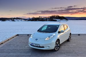 Nissan's Leaf and e-NV200 will be the only vehicles able to re-sell energy from their 360V lithium-ion batteries.