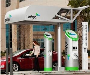 eVgo charging station