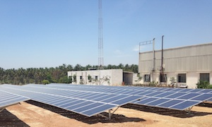 PV plant in India