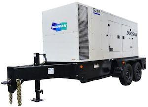 G240WCU Tier IV Final generator