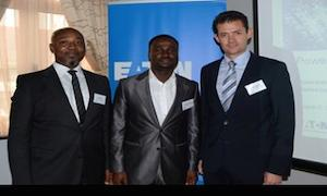 Eaton's opening reception in Lagos