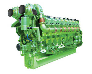 General Electric diesel engine