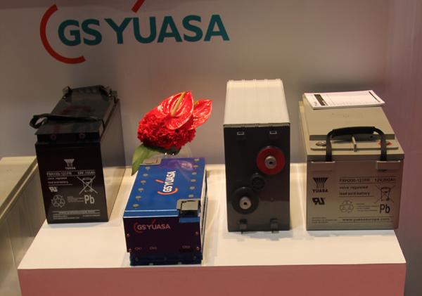 YUASA unveils VRLA batteries at London conference