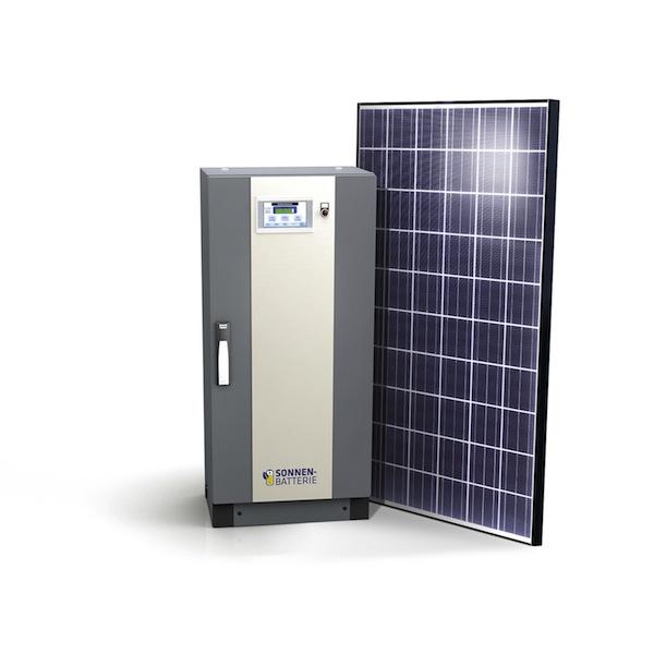 Germany solar PV energy storage