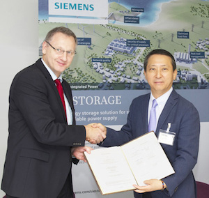 LG Chem and Siemens plan cooperation