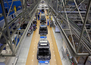 BMW car production
