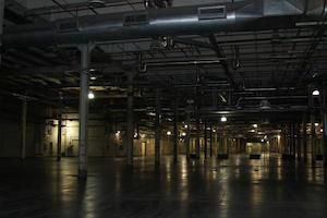 Alevo's currently empty factory in Concord, North Carolina