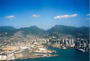 The Port of Honolulu, Hawaii, is seeking to lower its C02 emissions