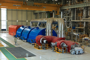 Alstom steam turbine islands