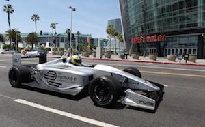Formule E racecar