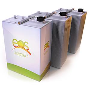 Eos zinc hybrid cathode battery system