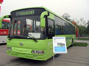Highpower batteries will be incorporated by Huizhou Yipeng into Chinese hybrid buses
