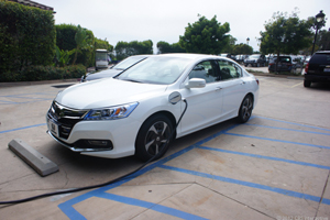 Honda has contributed an Accord plug-in to the study