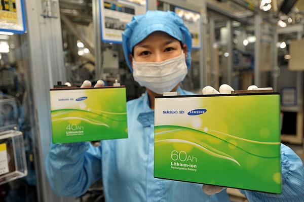 Samsung SDI buys Magna Steyr Li-ion battery pack business
