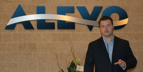 Alevo business development VP Chris Christiansen