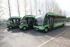 Optare electric buses