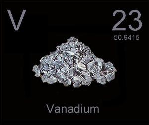Vanadium is key to the battery