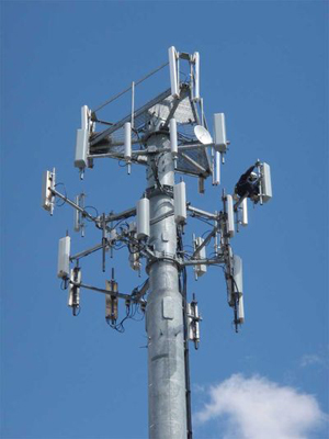 The zinc-air batteries are designed for use in cell phone transmission towers